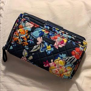 Vera Bradley Large Wallet in Pretty Posies